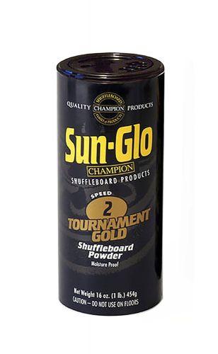 Sun-Glo Speed 2 (Fast Glide Wax) Shuffleboard Table Powder Wax 16 oz.