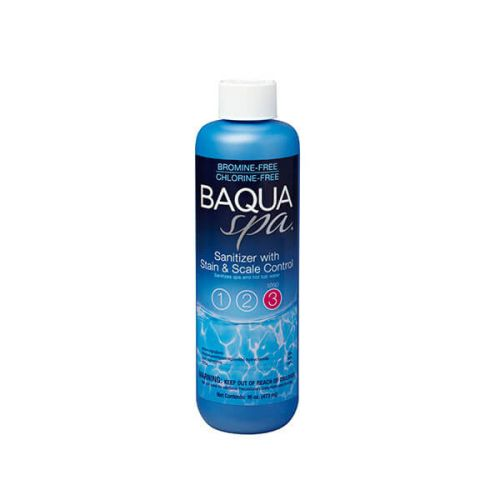 BaquaSpa Sanitizer with Stain and Scale