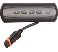 Gecko Topside Control IN.K100 IN.XM Aux Keypad 4 Button 3 + Light BDLK10030P